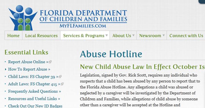 State Of Florida Abuse Hotline florida abuse hotline logo http www dcf ...